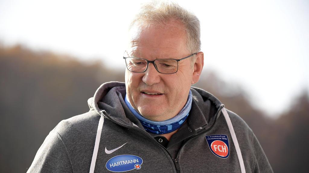 Holger Sanwald, Vorstandsvorsitzender des Fußball-Zweitligisten 1. FC Heidenheim