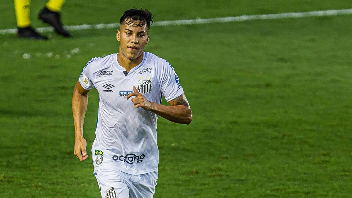 Santos-Juwel Kaio Jorge auf Neymars Spuren