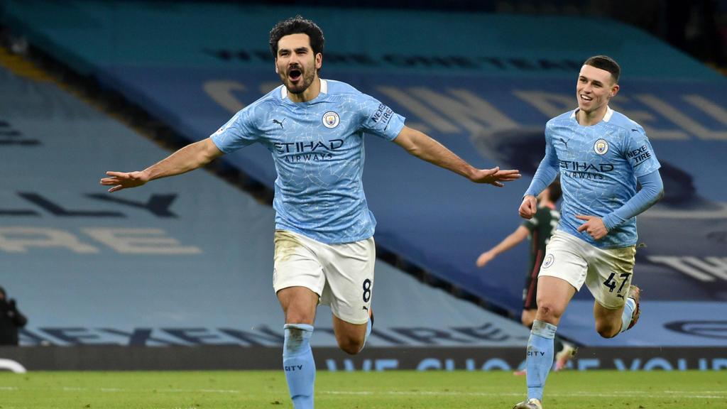 Ilkay Gündogan hat mit Manchester City die 3. Meisterschaft gewonnen
