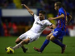 Xabi Alonso en su etapa como jugador del Real Madrid.