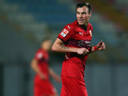 Kevin Großkreutz steht vor seinem Pflichtspieldebüt im Trikot des VfB Stuttgart