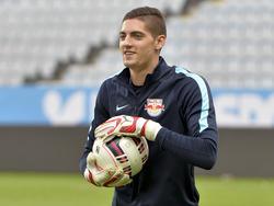 Der 22-jährige Keeper ist Salzburgs neue Nummer eins