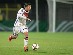 Arianit Ferati erzielte einen Treffer für die deutsche U19
