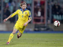 Zumindest moralisch ein wichtiger Pfeiler im ukrainischen Team: Anatoliy Tymoshchuk