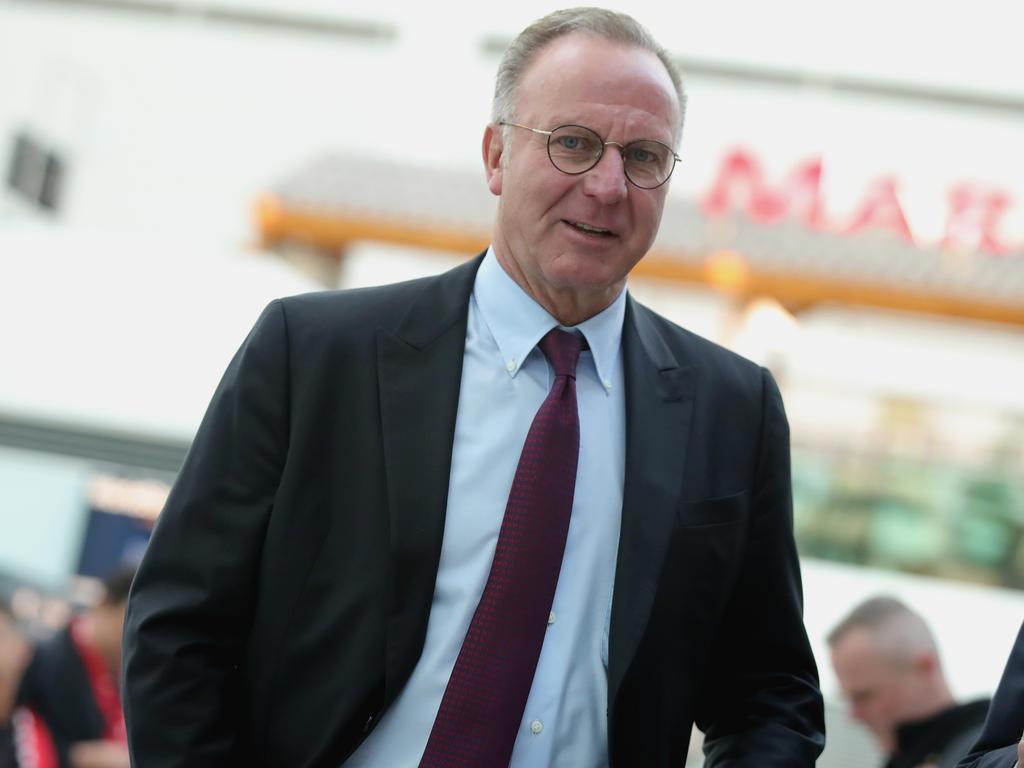 Karl-Heinz Rummenigge ist vom künftigen Bayern-Trainer beeindruckt