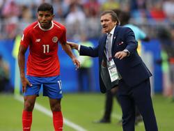 Òscar Ramírez schied mit Costa Rica in der Vorrunde der WM aus