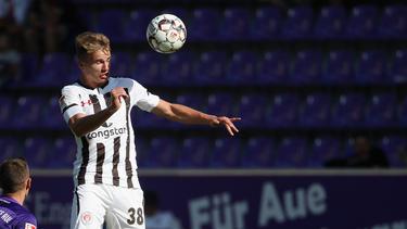 Florian Carstens erhält beim FC St. Pauli einen Profivertrag