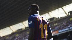 Ousmane Dembélé konnte aufgrund einer Magen-Darm-Entzündung nicht trainieren