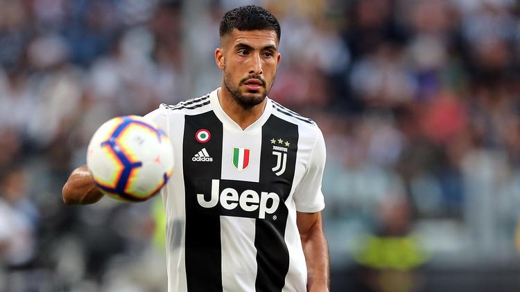 Juventus-Profi Emre Can ist nach seiner Operation wieder in Turin