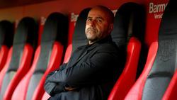 Leverkusens Trainer Peter Bosz startete mit einer Heimniederlage