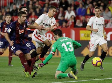 Sevilla und Eibar teilten sich die Punkte. © imago/Agencia EFE/Julio Muñoz