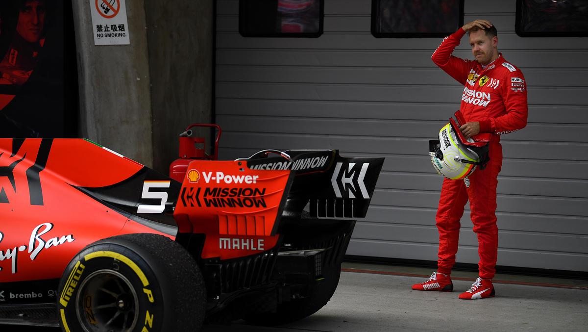 Sebastian Vettel muss bei Ferrari um seinen Status als Nummer eins kämpfen