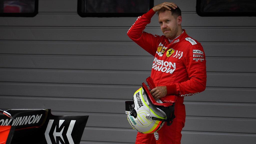 Nur auf Platz drei in Shanghai: Sebastian Vettel