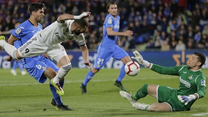 Karim Benzema (l.) blieb ohne Treffer