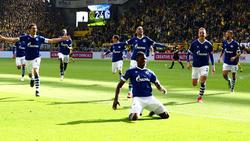 Der FC Schalke feierte einen überraschenden Derbysieg beim BVB