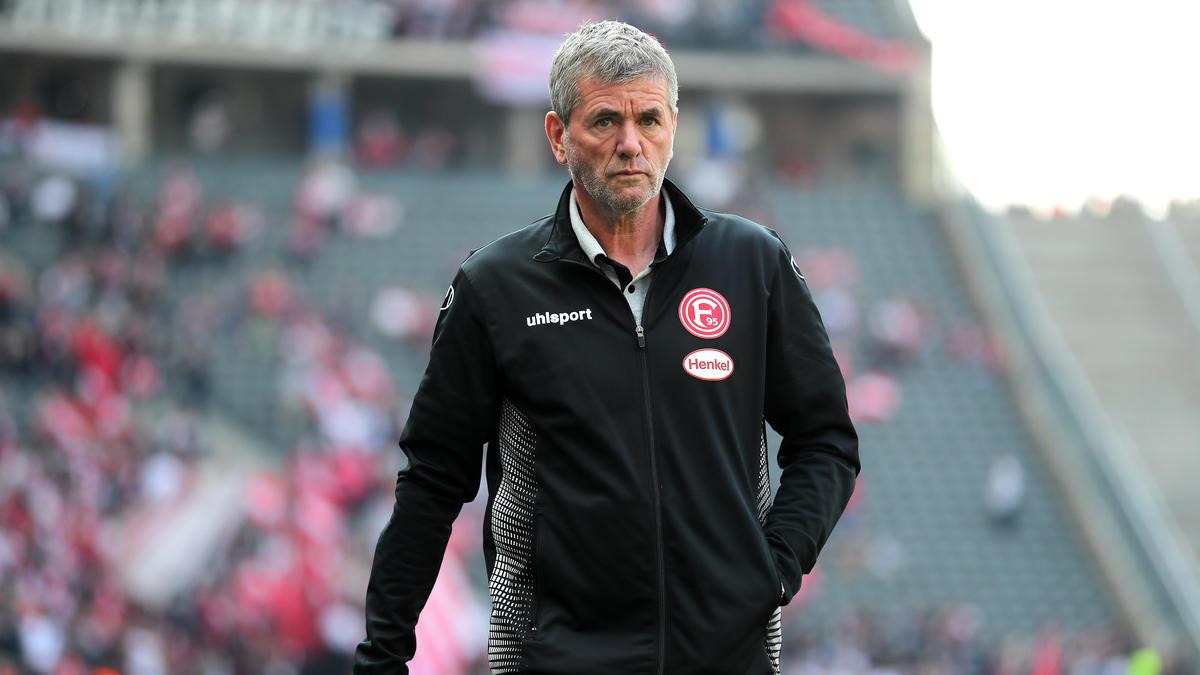 Fühlt sich bei Fortuna Düsseldorf rundum wohl: Friedhelm Funkel