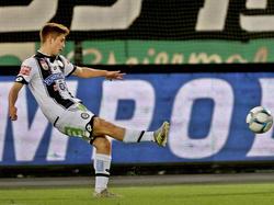 Romano Schmid traf zum zwischenzeitlichen 3:1 für Sturm Graz gegen die Austria