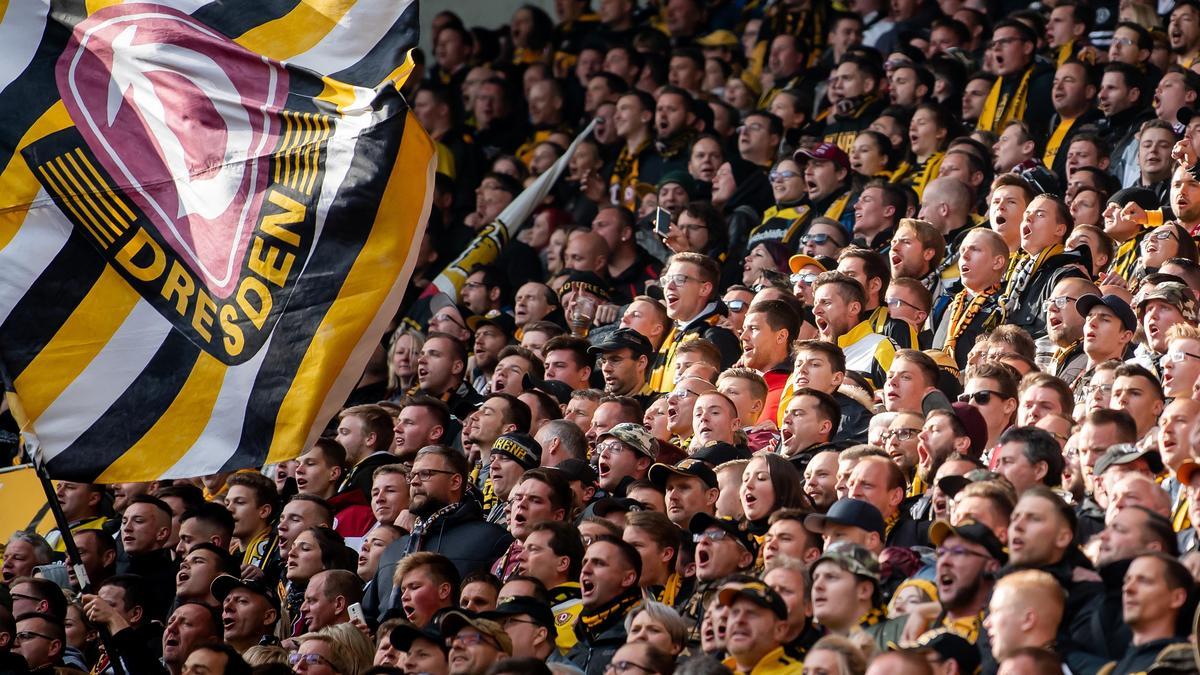 Fans und Ordner von Dynamo Dresden in der Kritik