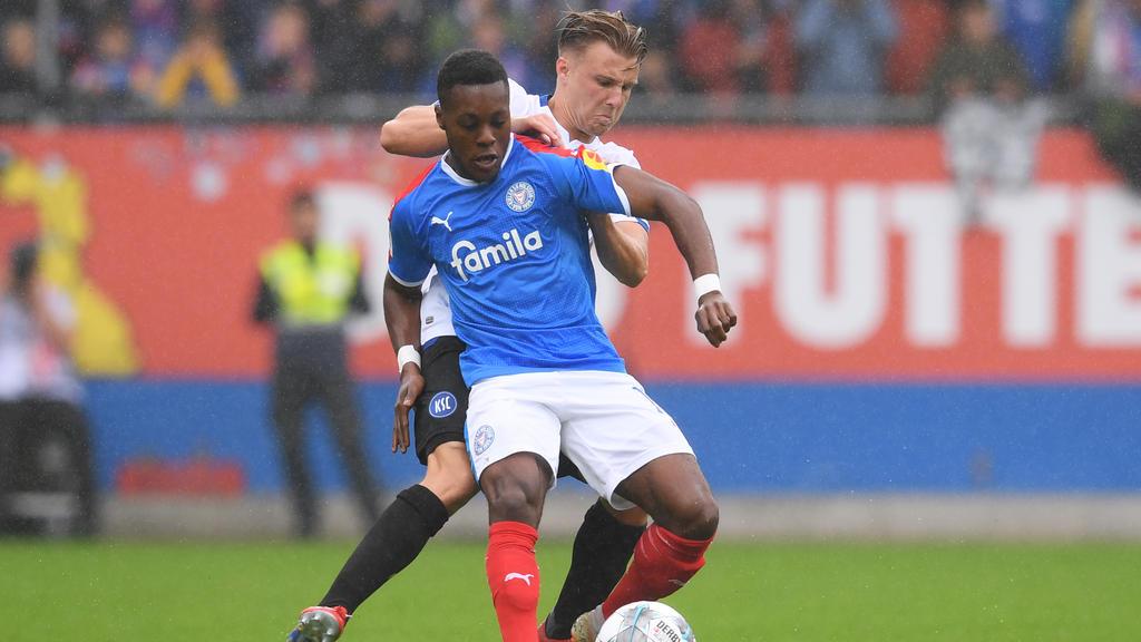 Holstein Kiel drehte die Partie gegen den KSC