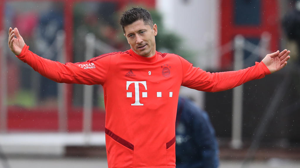Robert Lewandowski hält dem FC Bayern offenbar die Treue