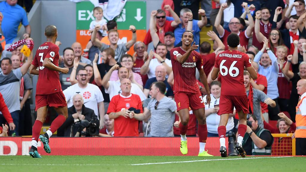 Der FC Liverpool hat den dritten Sieg im dritten Liga-Spiel gefeiert