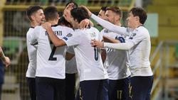 Die Italiener ließen Armenien keine Chance
