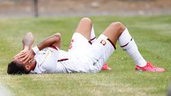 Karim Bellarabi musste im DFB-Pokal verletzt ausgewechselt werden