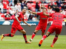 Sambueza hizo el empate para Toluca.