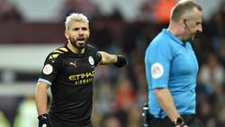 Steht einer Wiederaufnahme der Premier League eher skeptisch gegenüber:Sergio Agüero vonManchester City. Foto: John Walton/PA Wire/dpa