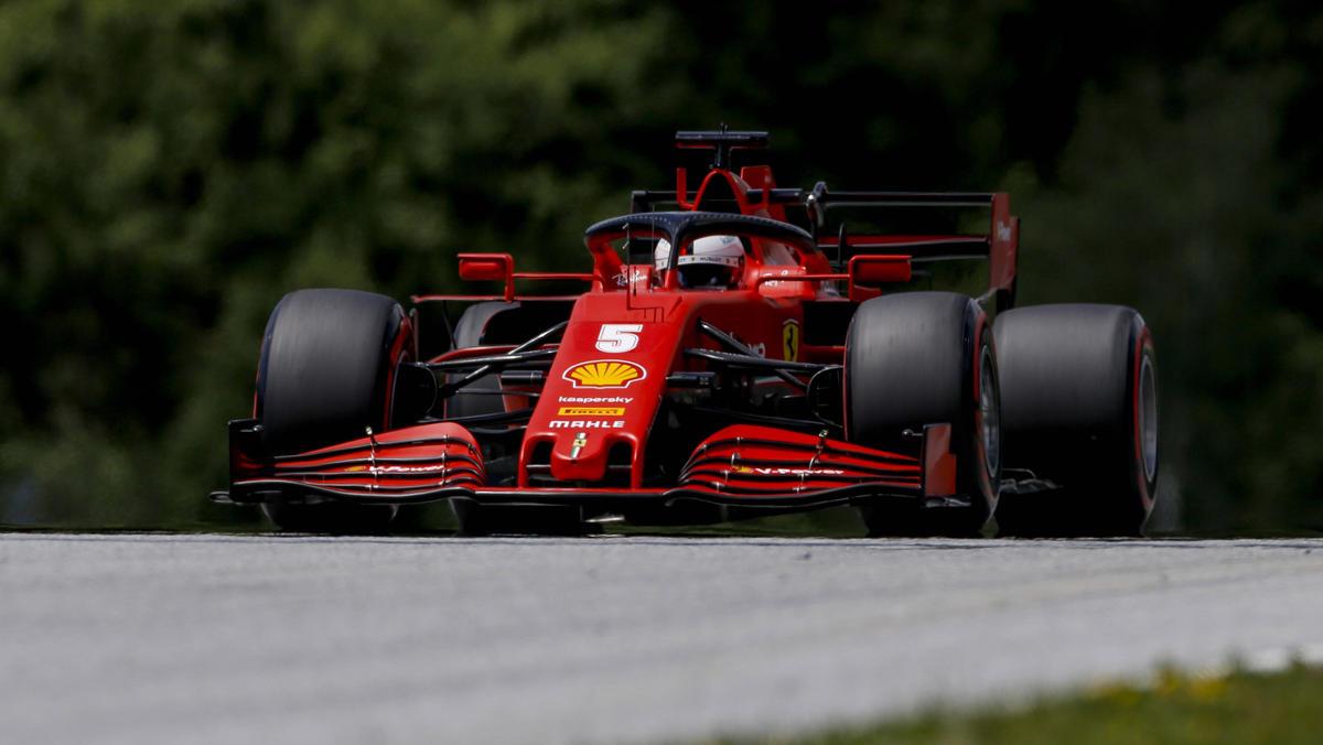 Bekommt Sebastian Vettels Ferrari schon am kommenden Wochenende neue Teile?