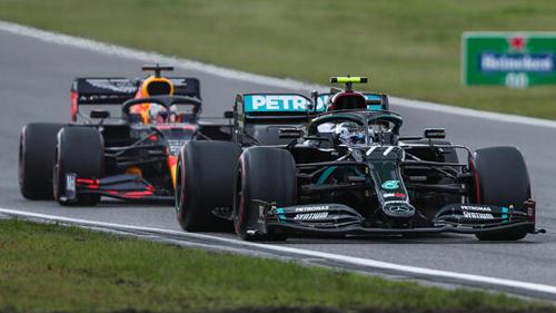 Red Bull hat sich in der Eifel näher an Mercedes herangerobbt