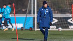 Manuel Baum bereitet sein Team auf den FC Augsburg vor