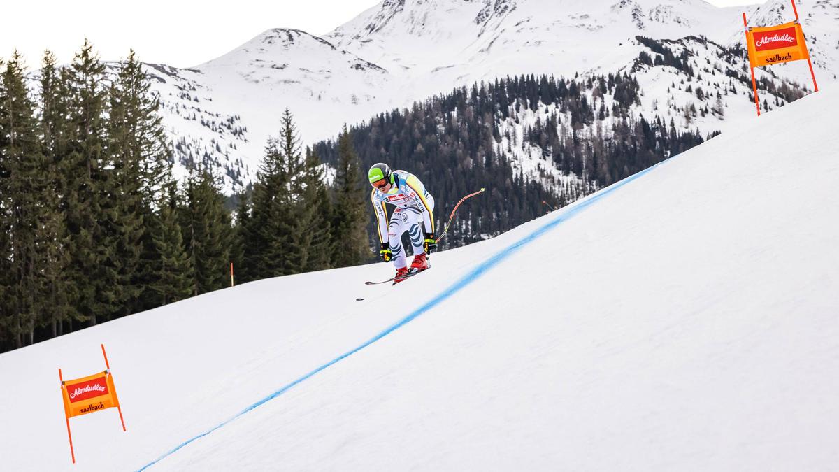 Andreas Sander durfte am Freitag in Saalbach-Hinterglemm nicht den Berg hinunterfahren