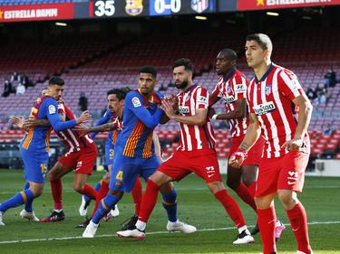 El Atlético sólo consiguió un punto en Barcelona hace tres días.