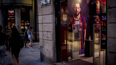 """Wechselt Lionel Messi zum """"schlechtesten Team der Welt""""?"""