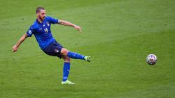 Leonardo Bonucci steht mit Italien im EM-Finale
