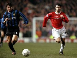 Da waren sie noch jung: Zanetti (l.) und Giggs (r.) im CL-Viertelfinale 1999