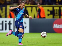 Lukas Podolski darf gegen Galatasaray von Beginn an ran