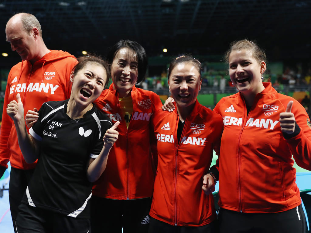 Das deutsche Tischtennis-Team steht im Finale von Rio