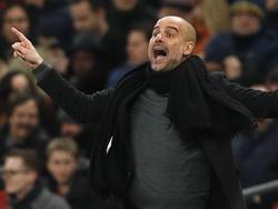 Guardiola hat den Blick auf die Meisterschaftstrophäe gerichtet