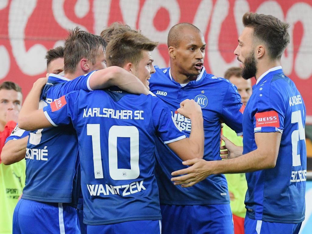 Wichtiger Erfolg für den Karlsruher SC
