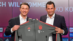 Neues starkes Duo beim FC Bayern: Coach Niko Kovac und Sportdirektor Hasan Salihamidzic