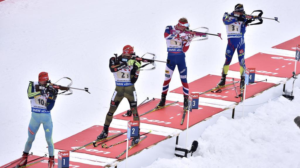 Weltcupsiege Biathlon