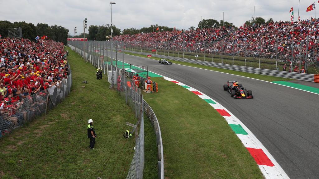 Die Strecke in Monza könnte in Kürze radikal umgebaut werden
