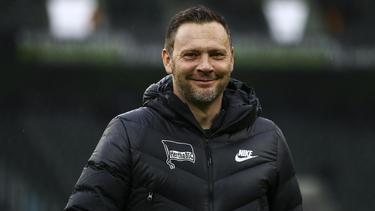 Pál Dárdai will mit der Hertha auch gegen Bremen gewinnen