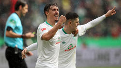 Max Kruse erzielte zwei Tore gegen Bayern, Milot Rashica eins