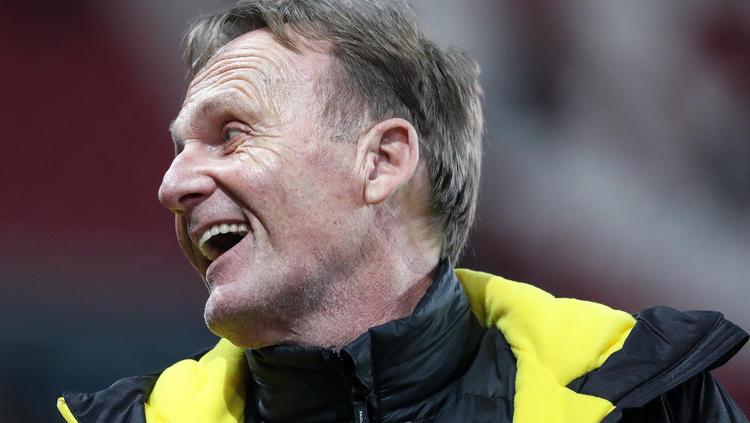 BVB-Boss Hans-Joachim Watzke konnte sich einen Seitenhieb nicht verkneifen