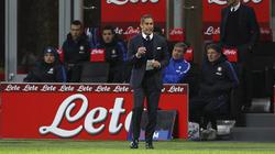 Sylvinho dando instrucciones en un Inter - Chievo Verona. (Foto: Getty)