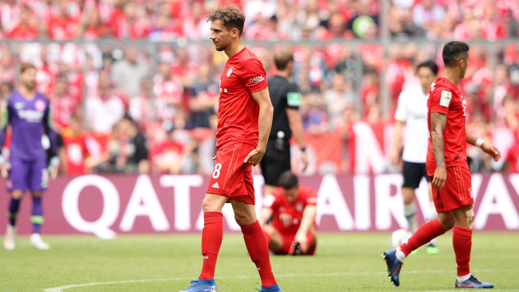 Leon Goretzka verpasst das Pokalfinale mit dem FC Bayern
