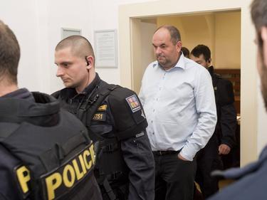 Miroslav Pelta, der Präsident des tschechischen Fußballverbands, sitzt in U-Haft